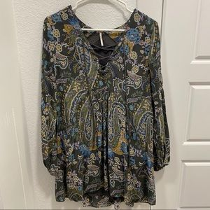 Free people tunic dress size XS with pockets